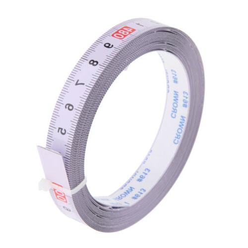 5M Self Adhesive Tape Measure, Metric Miter Saw Steel Ruler