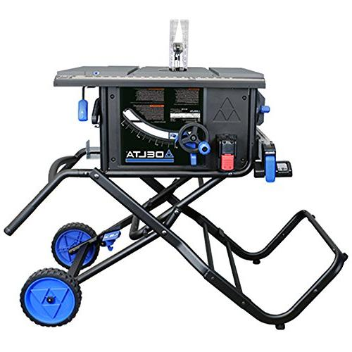 Delta Series 15 Amp Portable Table Saw with Stand