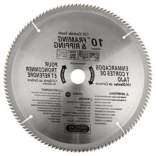 american carbide tipped saw blade