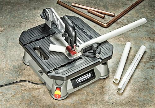 Rockwell BladeRunner Tabletop Saw with Steel Rip and RK7323