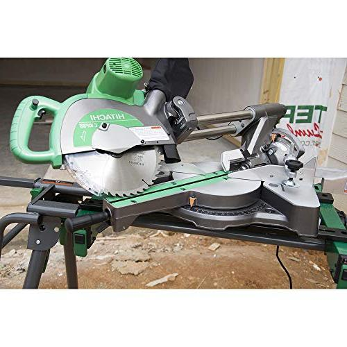 Hitachi C10FSBP4 12-Amp Sliding Compound Miter Saw