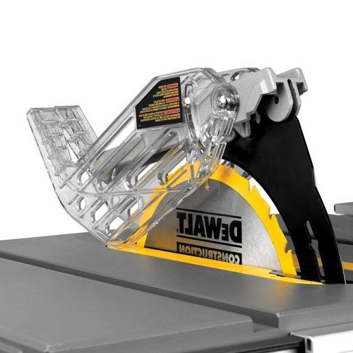 Compact Job Site Table Saw with Site-Pro Guarding System