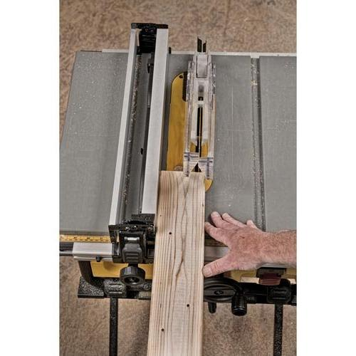 15 Compact Job Site Table Saw Site-Pro Guarding
