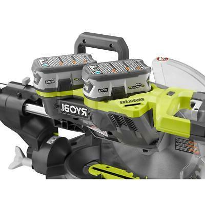 RYOBI Cordless 10 in. Dual Bevel Sliding Saw Starter ONE+