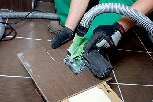 "CS Unitec EDS 125 5"" Saw for Wet/Dry Cutting of Ceramic Hardie"