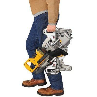 "DeWALT DCS361B Max Cordless 7-1/4"" Sliding Miter Saw - Bare Tool"