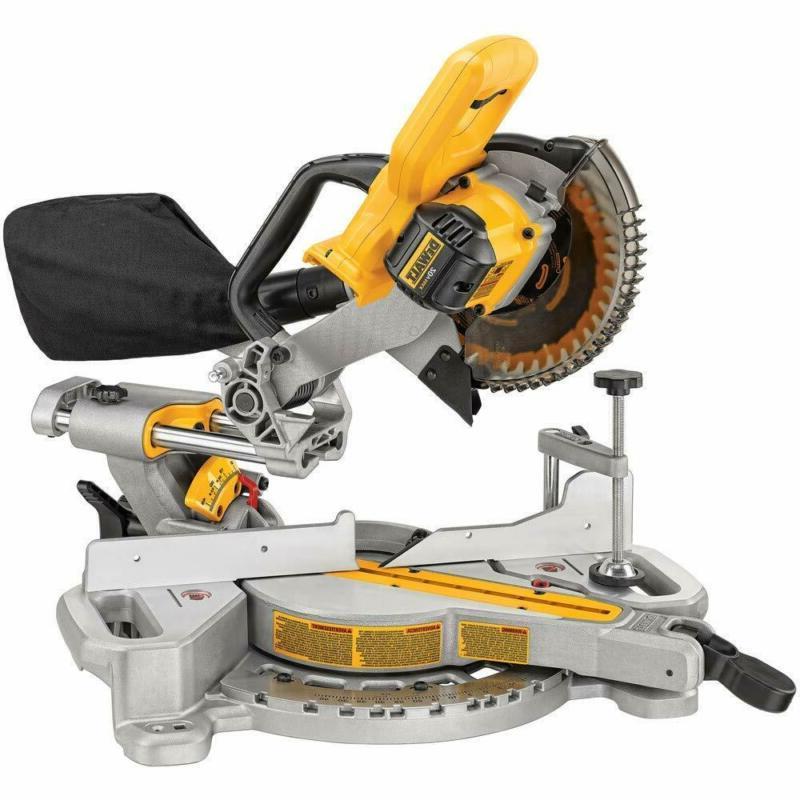 dcs361b 20v max cordless miter saw tool