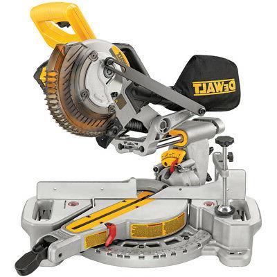 dcs361m1 max cordless miter saw