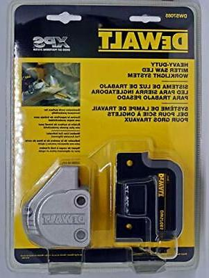 dewalt dws7085 miter saw work