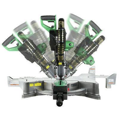 """Metabo Dual 12"""" Miter w/Laser Guide C12FDHSM"""