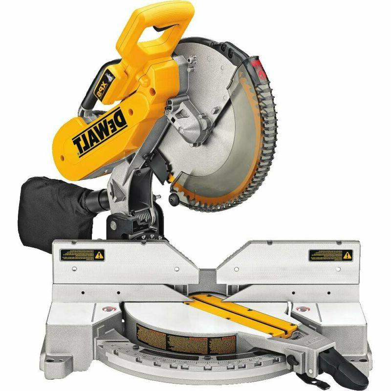 dw716xps compound miter saw with xps 12