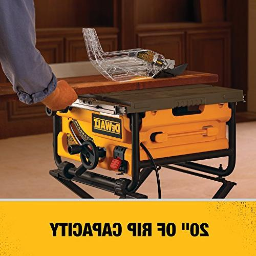 DEWALT DW745 Job-Site 20-Inch Rip Capacity - Table saw