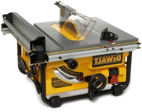 DEWALT DW745 Job-Site Table Saw with 20-Inch - 120V, Yellow/Black/Silver Table saw