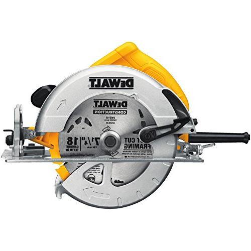 dwe575 electric circular saw kit