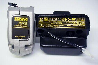 dws7085 miter saw work light