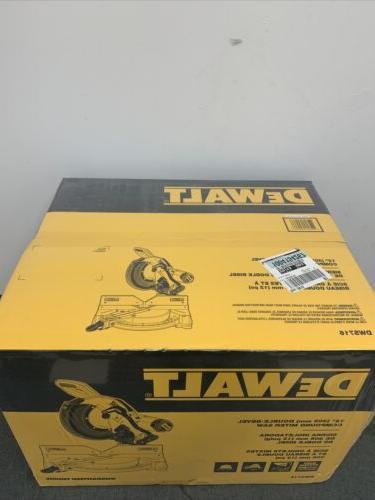 DeWALT DWS716 15-Amp Corded Electric Double Compound Miter