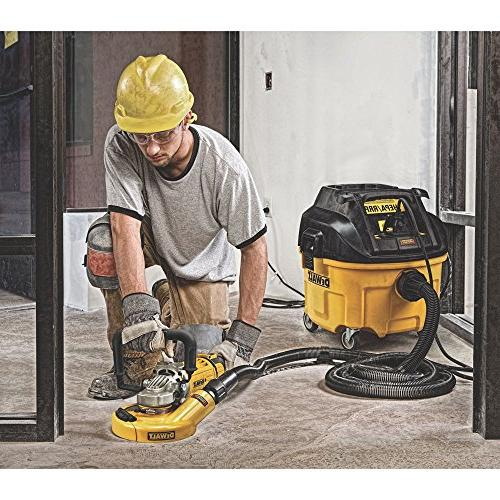 DEWALT HEPA Extractor with Automatic Filter Cleaning,