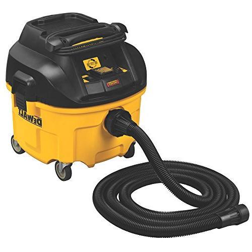 DEWALT HEPA Extractor Filter Cleaning,