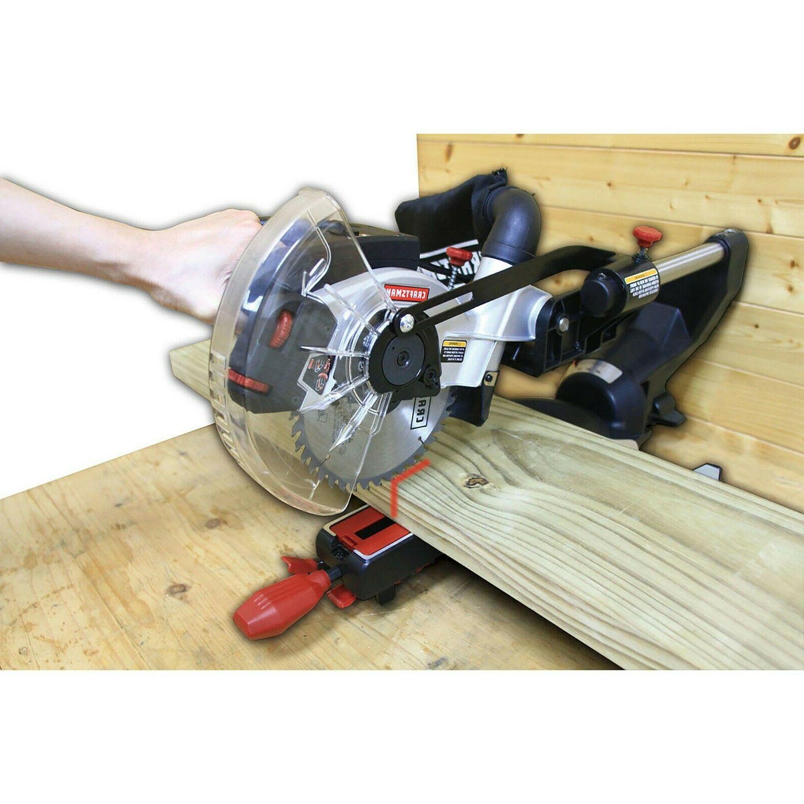 """Craftsman 7-1/4"""" Sliding Compound Miter Saw"""