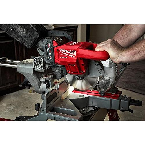 Milwaukee Lithium-Ion Brushless in. Dual Compound Miter Saw with