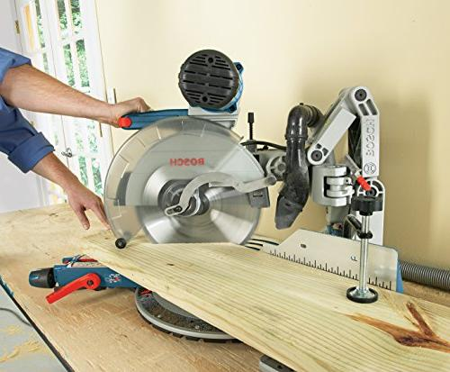 Bosch GCM12SD - Dual Bevel Saw - Chop Saw Tools and Accessories - Arm Saw Carpentry, Carpenter, Worker