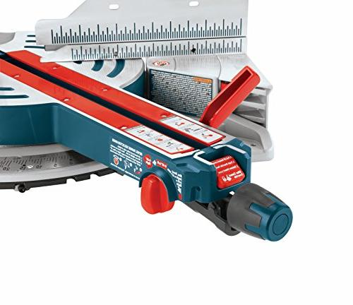 Bosch Compound GCM12SD 120-Volt, Dual Bevel Glide Saw Saw with and - Arm Saw For Carpentry, Carpenter, Worker