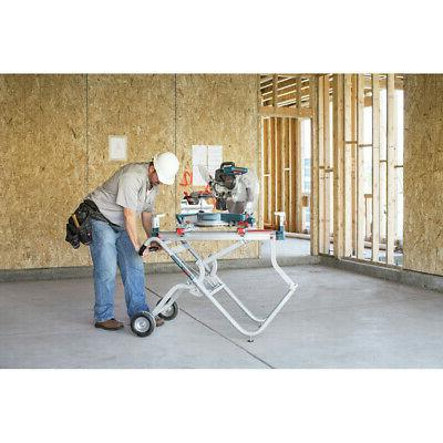 Bosch Gravity-Rise Wheeled Saw Stand T4B