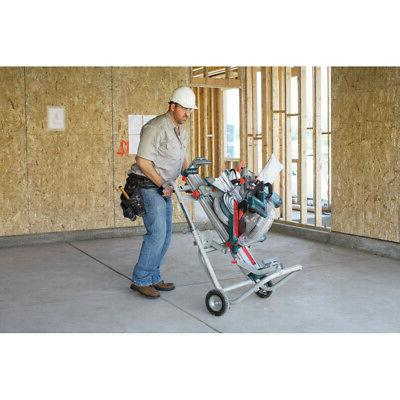 Bosch Gravity-Rise Wheeled Saw Stand New