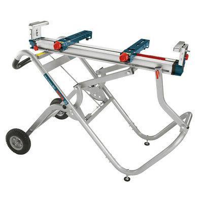gravity rise wheeled miter saw stand t4b