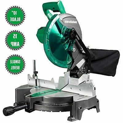Metabo Compound Saw Carbon 15 Amp Motor Tool C10FCGS