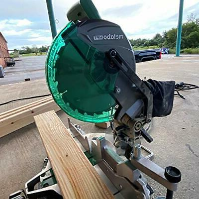 Metabo HPT Compound Miter Saw Carbon 15 Amp Tool C10FCGS