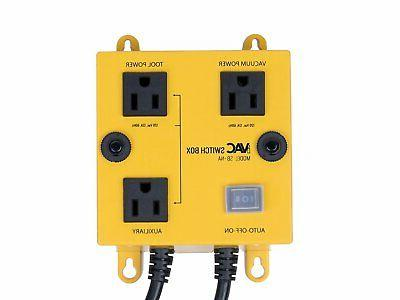 ivac automated vacuum switch features turn on