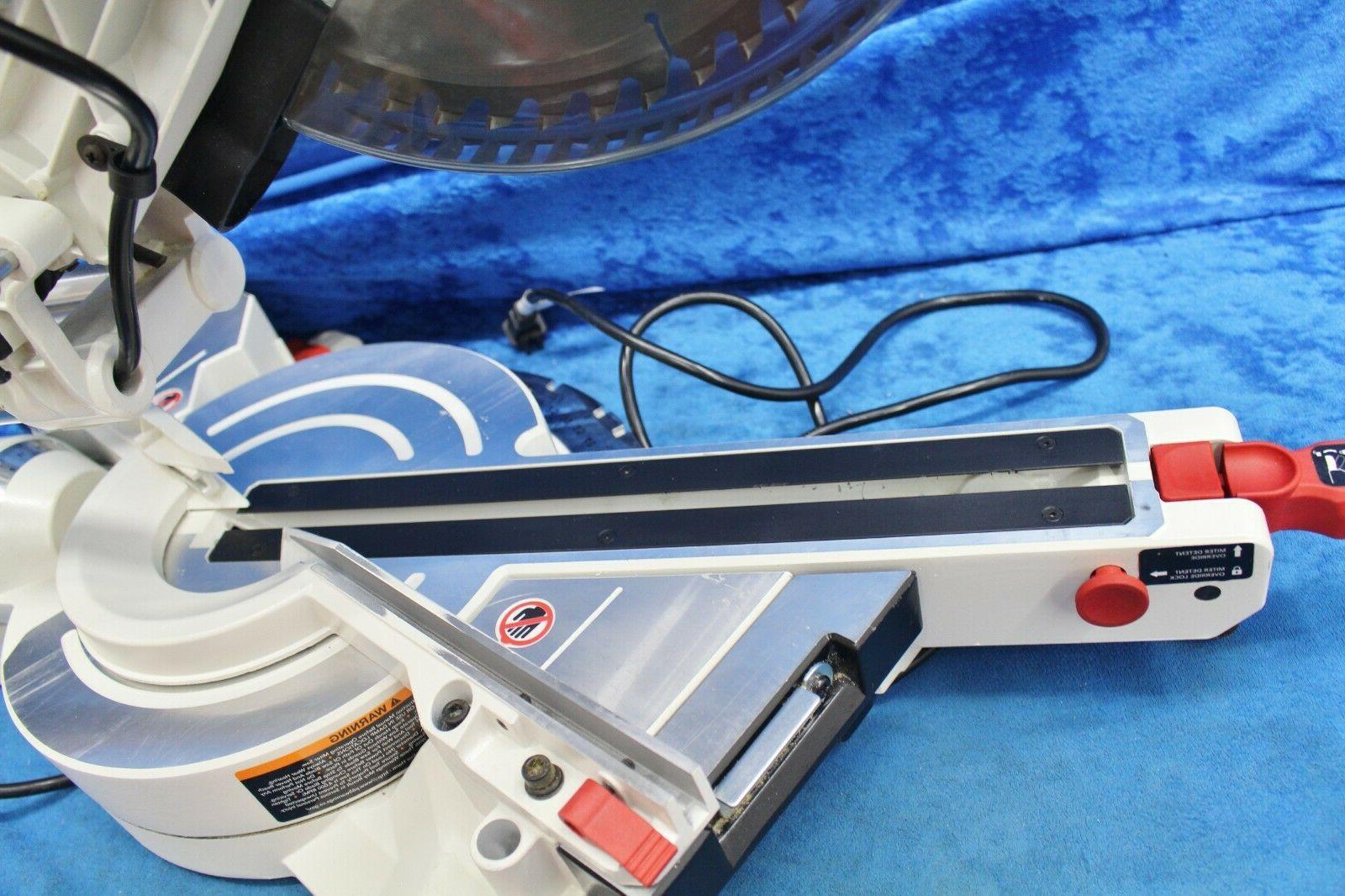 Jet JMS-12X Bevel Sliding Miter 4200 RPM 15 Amp Motor