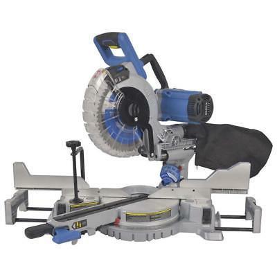 Kobalt Milter Saw 10-In 15-Amp Dual Bevel Sliding Laser Comp