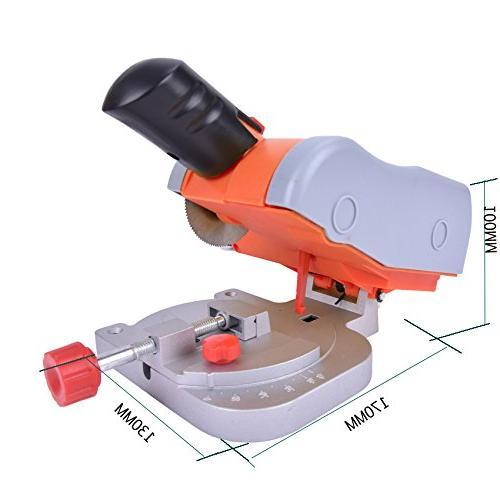 Mini Bench Cut-off Saw Steel Wood Adjust Gauge for