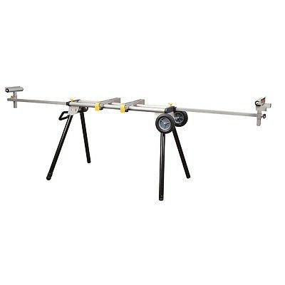 Miter Saw Stand Heavy Duty Mobile Adjustable