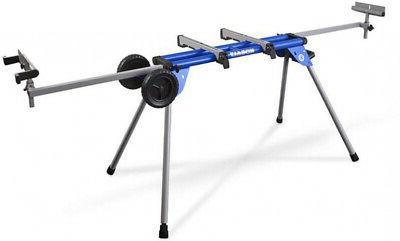 steel adjustable rolling miter saw stand universal