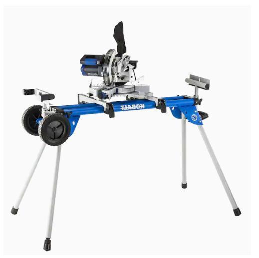 Miter Stand Adjustable Heavy Telescoping Portable Durabl