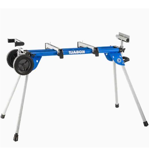 Miter Saw Steel Adjustable Duty Telescoping Portable Durabl