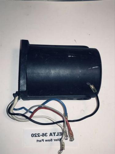 "DELTA 36-220 FIELD ASSEMBLY Type 3 10"" Miter Saw 110v"