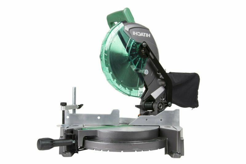 "NEW! Hitachi C10FCG 15-Amp 10"" Single Bevel Compound Miter S"
