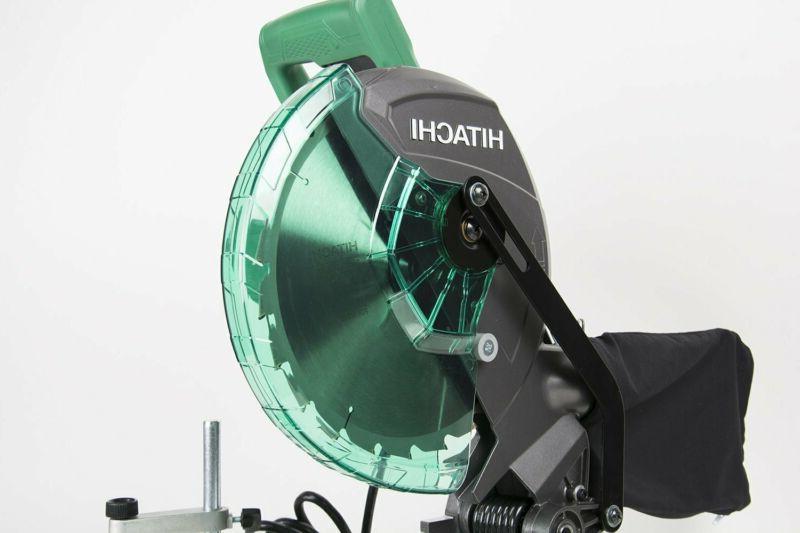 "NEW! Hitachi 10"" Single Bevel Miter Saw"