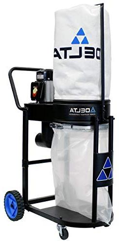 Delta Power 1 Dust Collector, Black
