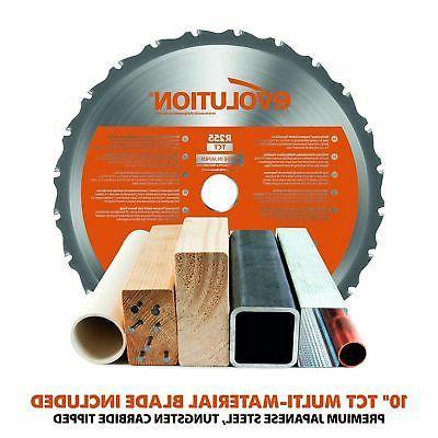 "Evolution Tools 10"" TCT Multi-Material Miter"