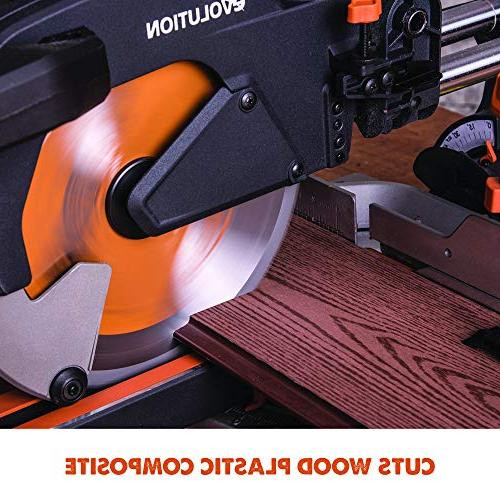 "Evolution 10"" Multi-Material Sliding Miter Saw"