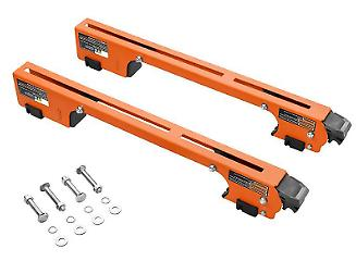 RIDGID Mounting Braces Universal Mobile Miter Saw Stand Dura
