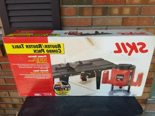 router router table combo pack 14651 nib