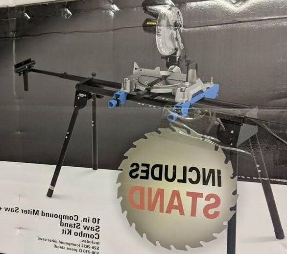 """DELTA 10"""" 14A Single Miter Saw+Stand"""