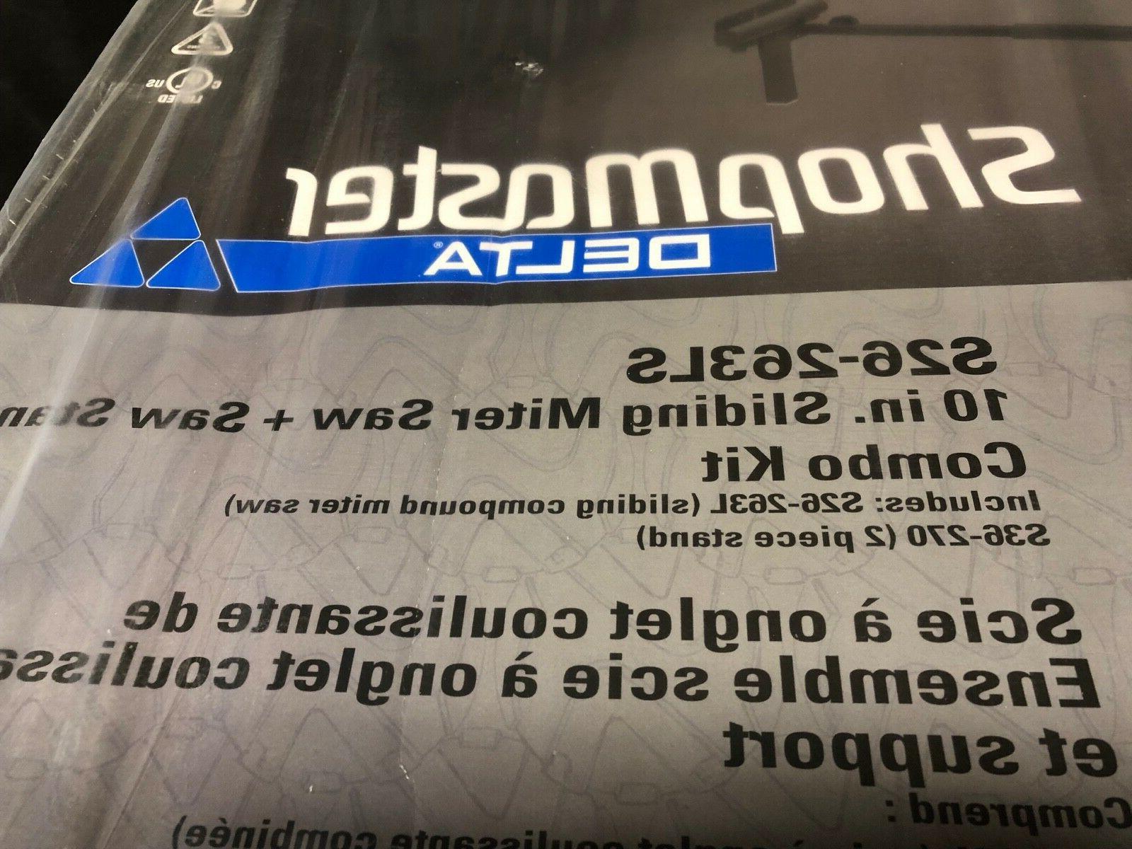 "Delta ShopMaster 10"" Miter S26-263LS"