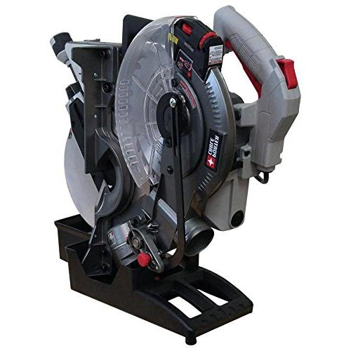 PORTER-CABLE 15-Amp Single Bevel Laser Miter Saw